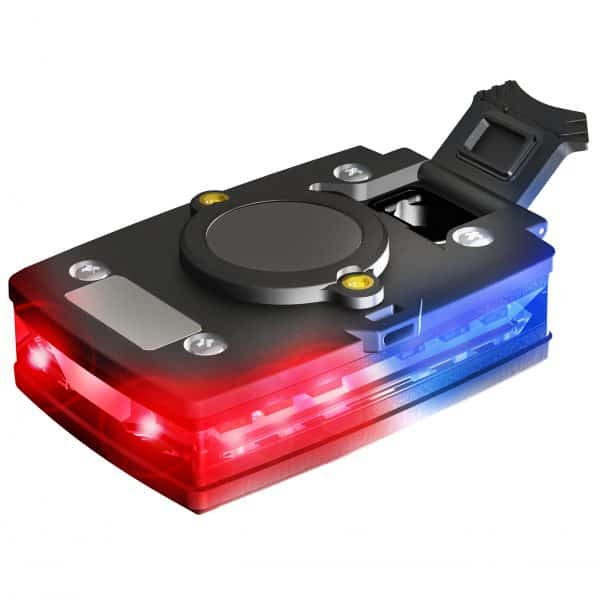 Elite Series Law Enforcement Red/Blue Wearable Safety Light