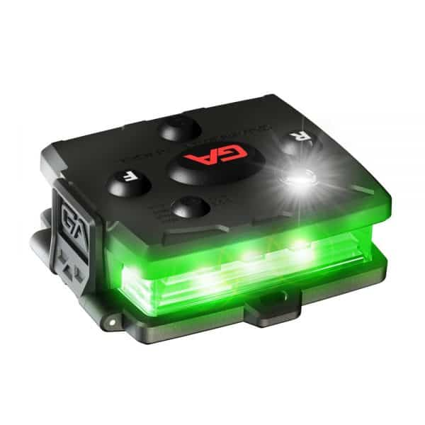 White/Green Wearable Safety Light