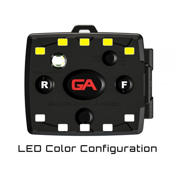 White/Yellow Wearable Safety Light