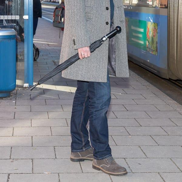 "Security Umbrella ""City-Safe"" (knobhandle)"