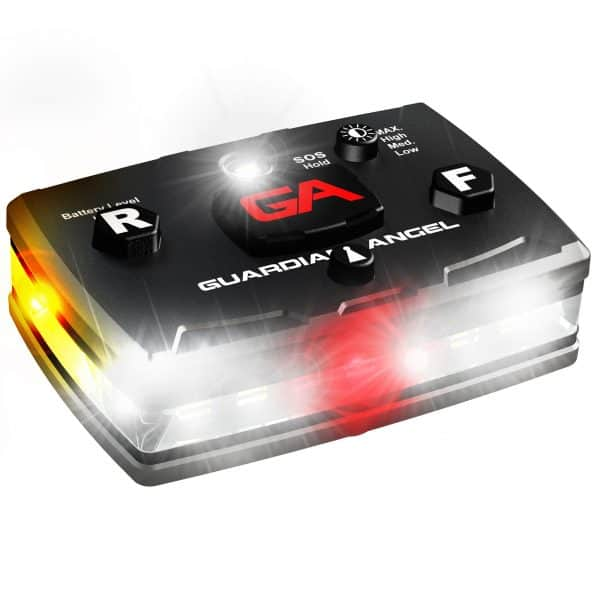 Elite Series White & Red/Yellow Wearable Safety Light